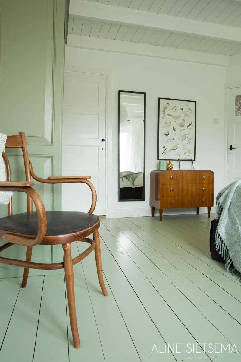 project slaapkamer interieur woninginrichting groen natuurlijk styling aline sietsema 2